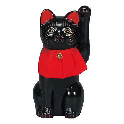 細猫 黒 招き猫