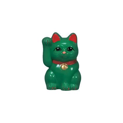 緑福猫(合格招福)