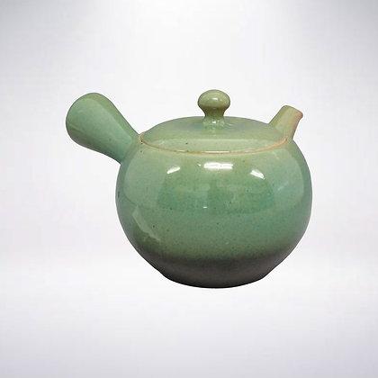 さわやか茶こし 一心 緑釉