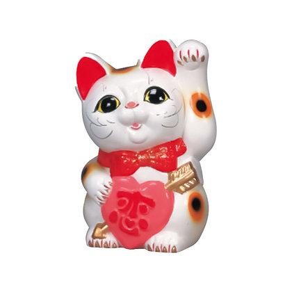 恋猫 白 招き猫