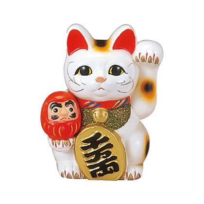 ダルマ付小判猫 招き猫
