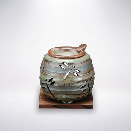 石龍窯 茶香炉 とんぼ