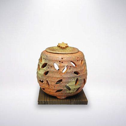 石龍窯 茶香炉 タデ花
