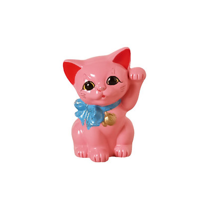 リボン猫 さくら 招き猫