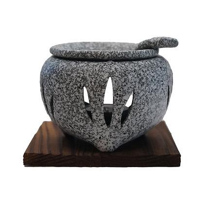 山房 石風 杉板付 茶香炉
