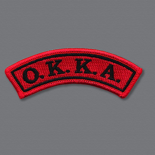 OKKA Rocker Patch - 4 in