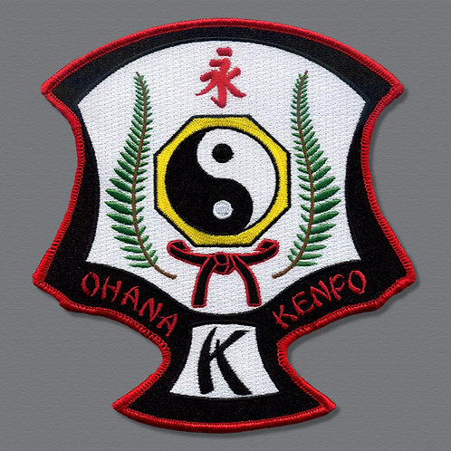 Ohana Kenpo Association Patch - 6 in