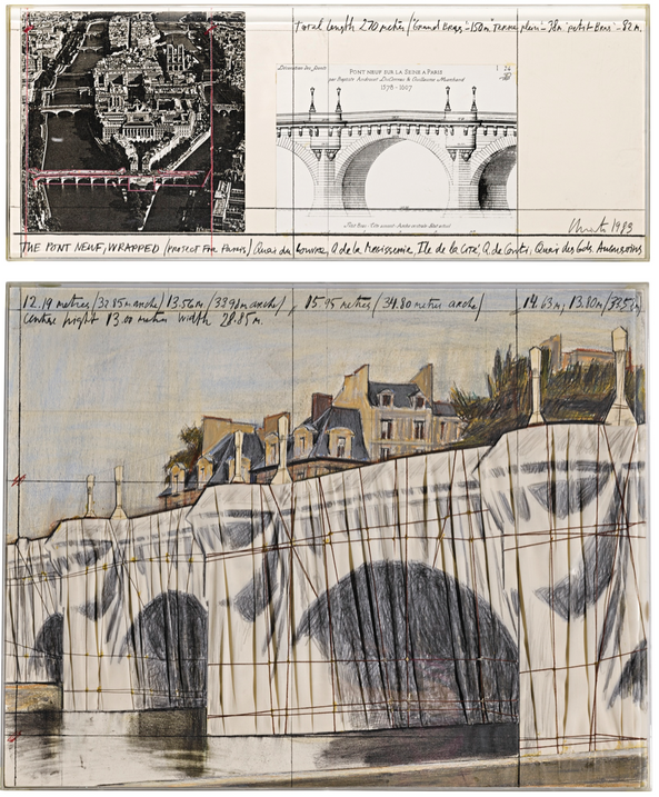 THE PONT NEUF WRAPPED - PROJECT FOR PARIS