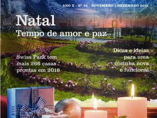 Rocha Machado na Revista Swiss Park edição Natal-2016