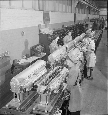Rolls_Royce_factory_-Merlin_engines_and_