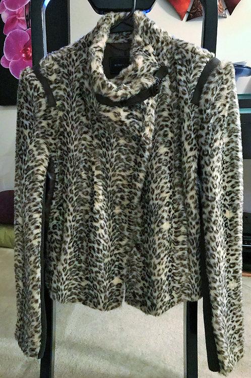 Leopard Print Austin Faux Fur Jacket