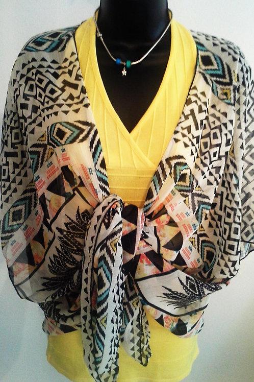 Kimono Zebra Print