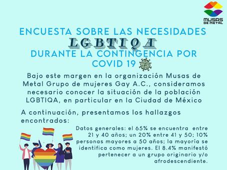 ¿Cómo está la población LGBTIQANB a consecuencia de la pandemia por COVID 19?