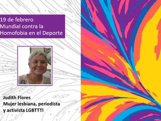 19 de febrero Día Mundial contra la Homofobia en el Deporte