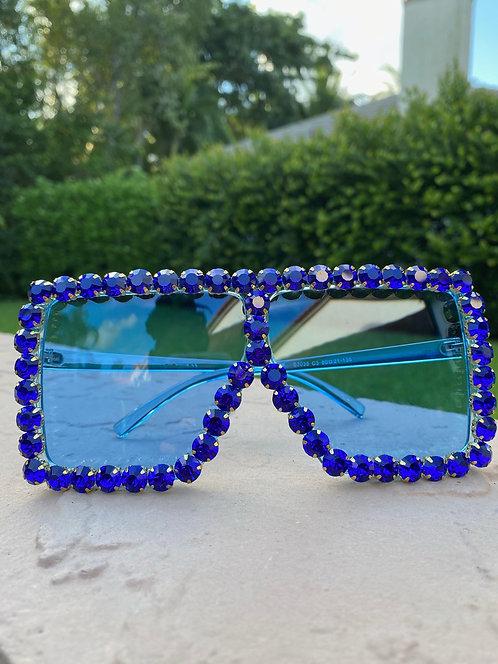 YAZMIN- Royal Blue Studs
