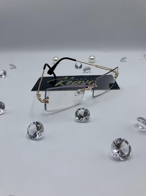 CARTI- Clear Gold Rim (UNISEX)