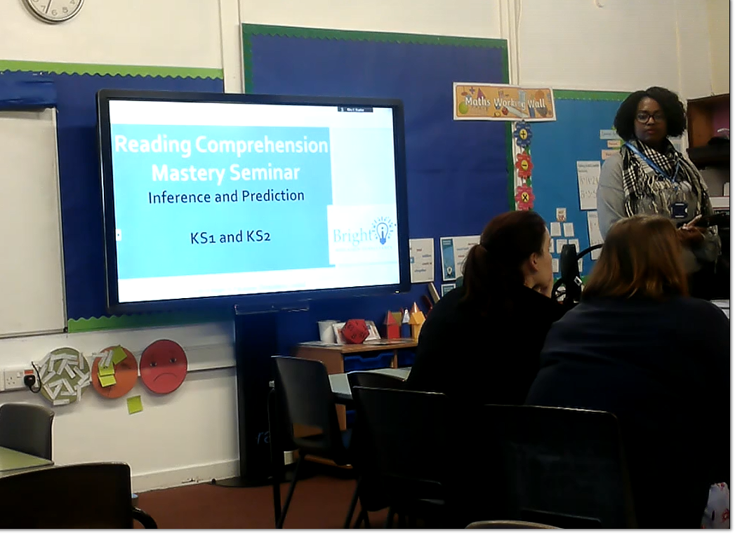 KS1 KS2 Staff training