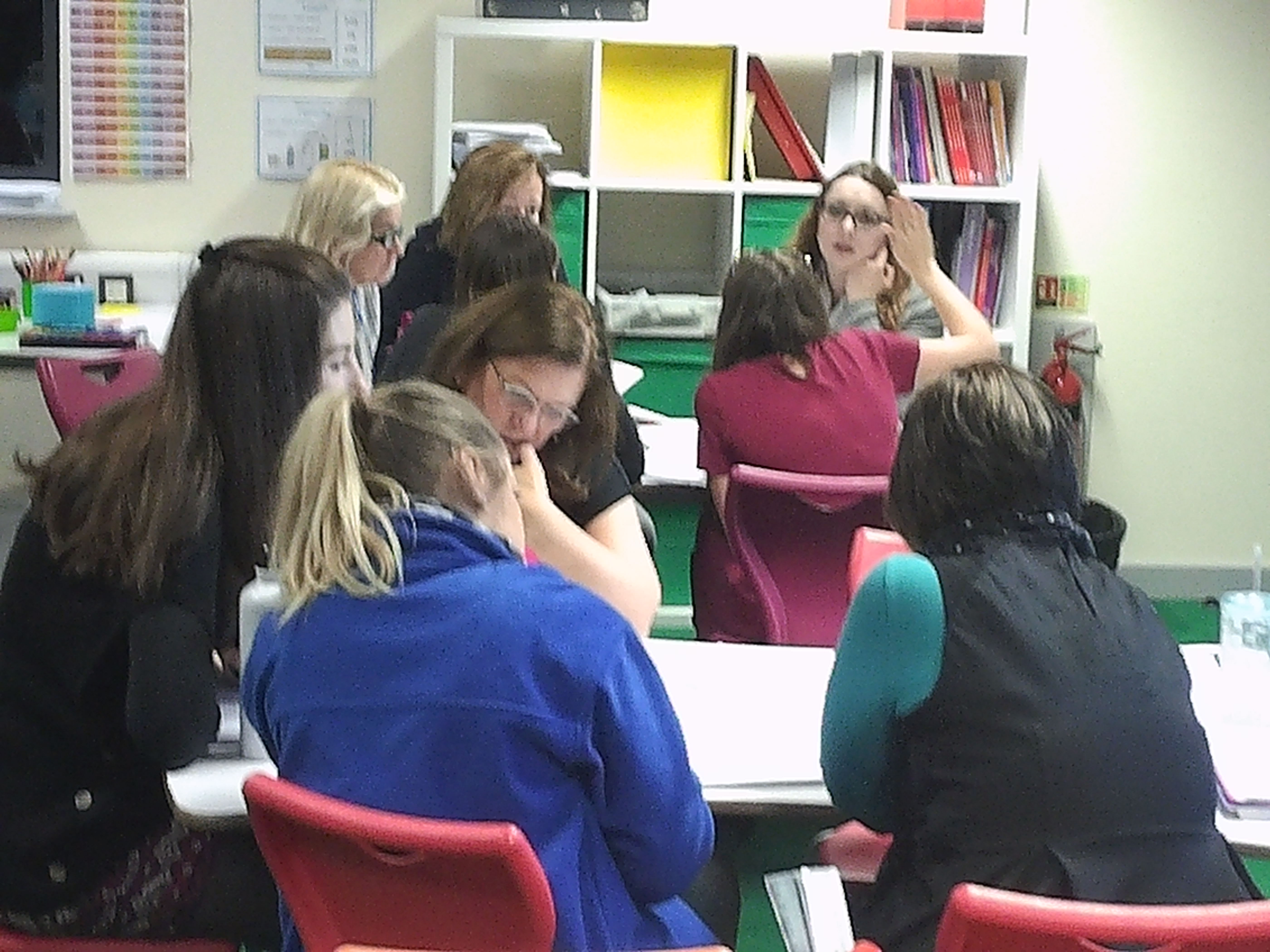 Staff Analysing text