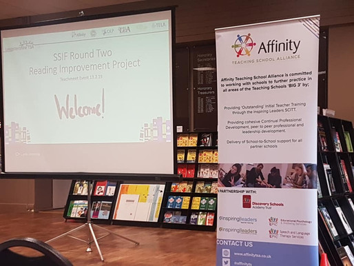 Celebrating the 'good stuff' about reading teaching: Affinity TSA's Teachmeet