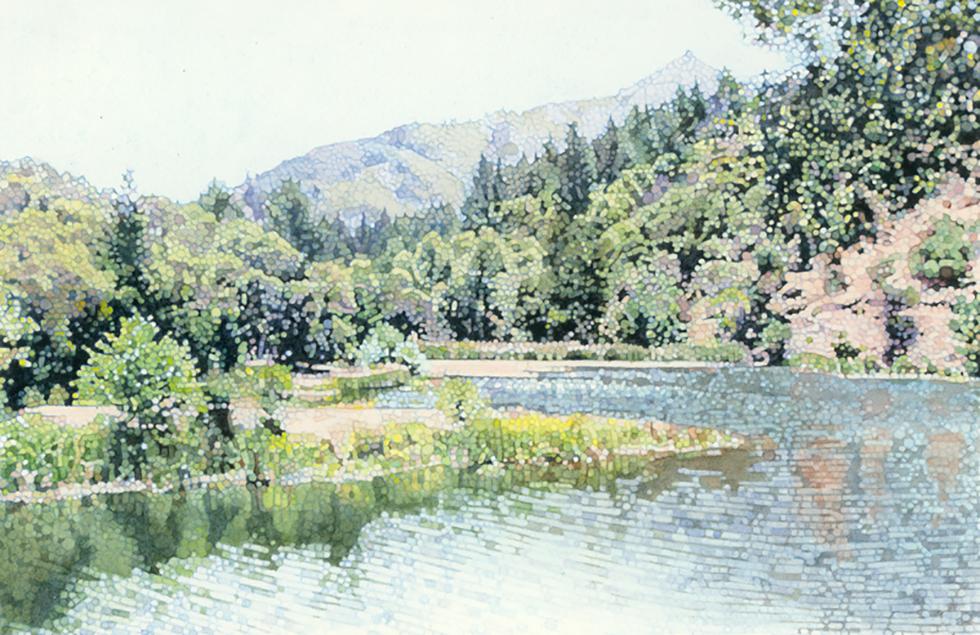 Mt.Tam from Lake Lagunitas