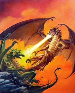 Duelling Dragons