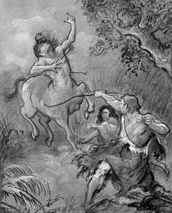 Hercules Slaying the Centaur Nessus