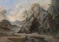 Landscape with Hermit