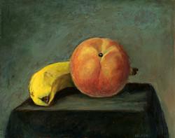 Banana and Peach