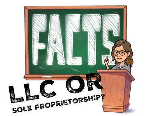 LLC vs. Sole Proprietorship DEBUNKED!