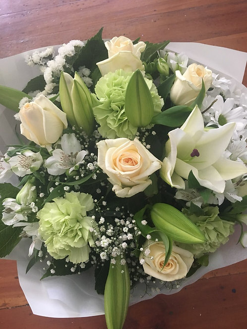 Sympathy - Lillies & Roses - from $75