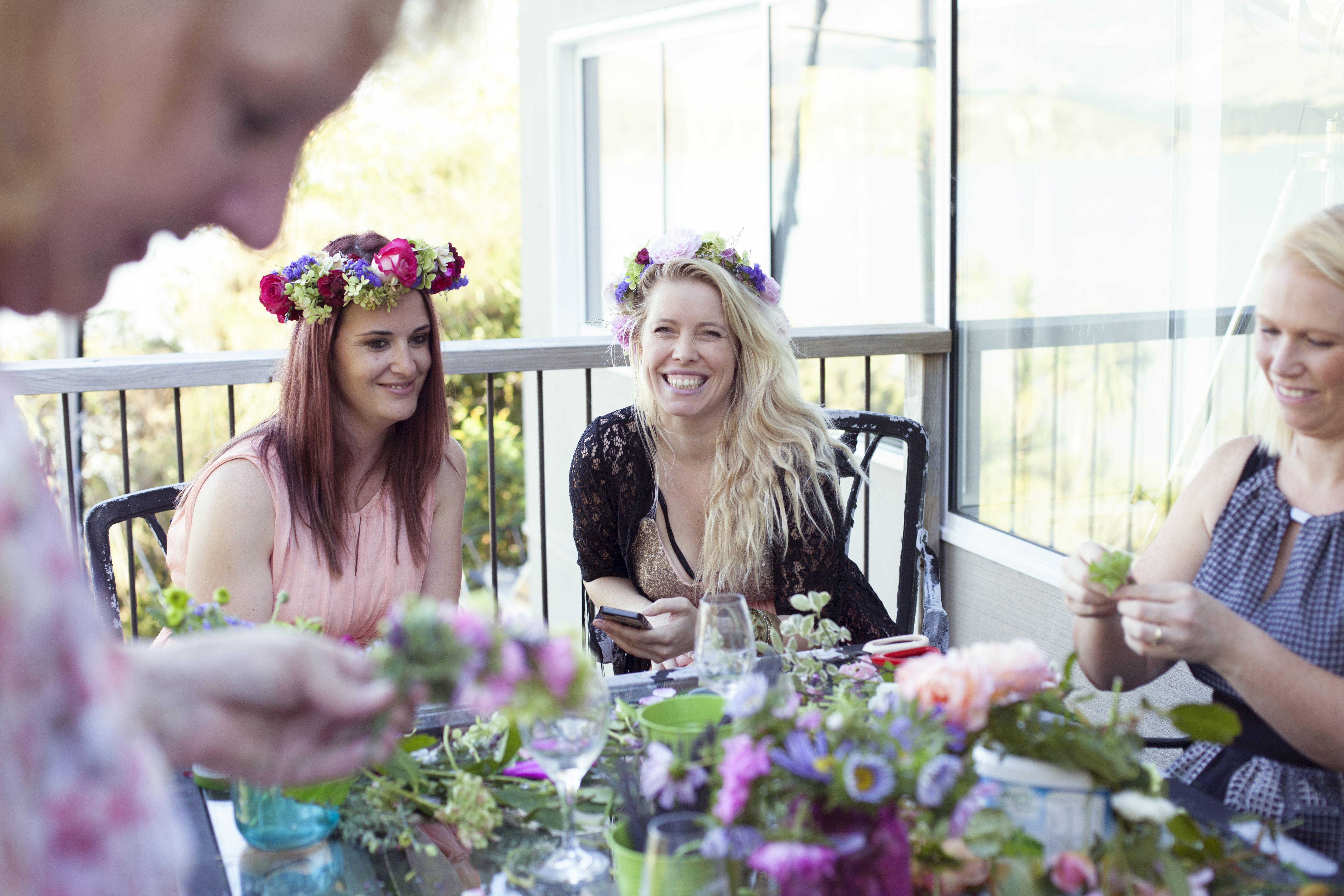 Headpiece Party, Flower Crown 18