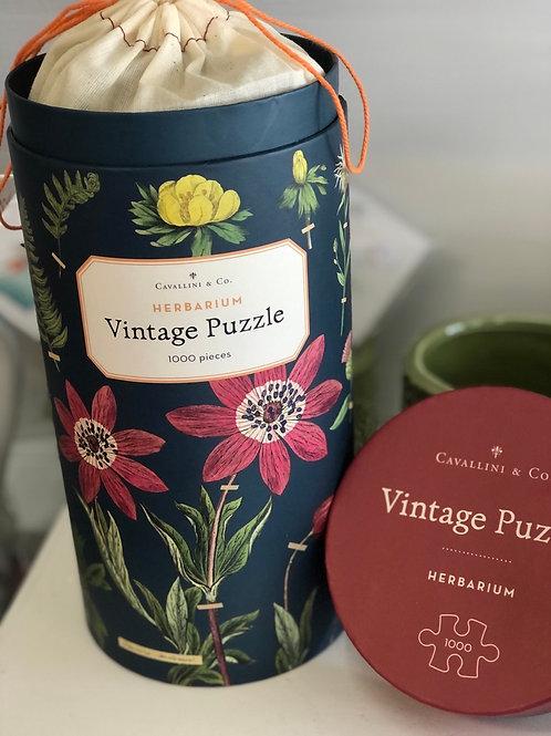 Botanical Vintage Puzzles
