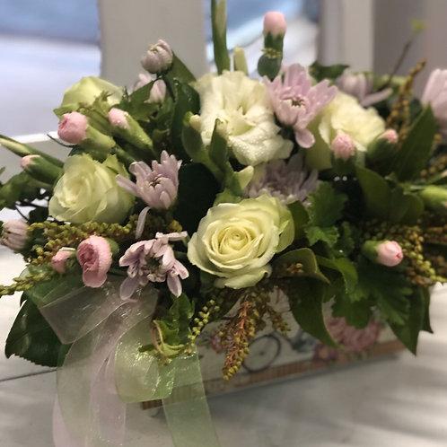 Vintage Trough Bouquet