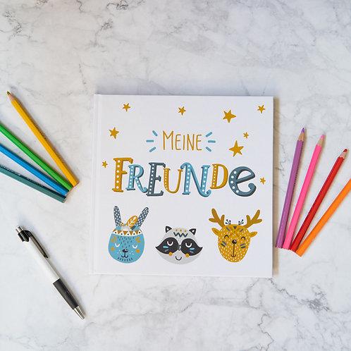 "Freundebuch ""Meine Freunde"" | Johannstochter.at"