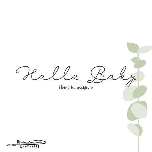 Hallo Baby - Wunschliste by Krokostil