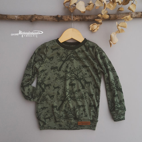 Sweater SAG | 98/104+ (Wolle/Lyocell)