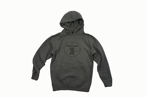 D36 Grey/Black Hoodie