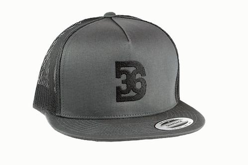 D36 Flat Brimmed Hat