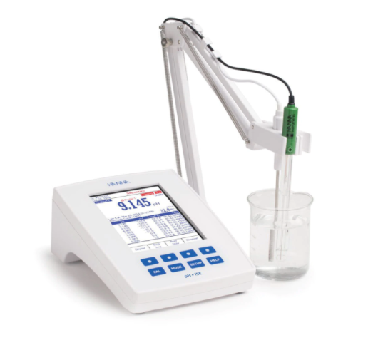 Hanna Instruments Laboratory Research Grade Two Channel Benchtop pH/mV/ISE Meter