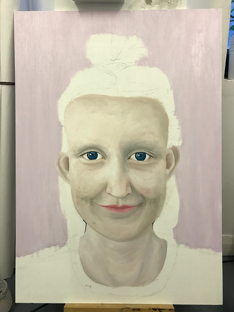 THE PROGRESS OF A PORTRAIT