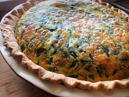 Classic French Spinach Quiche