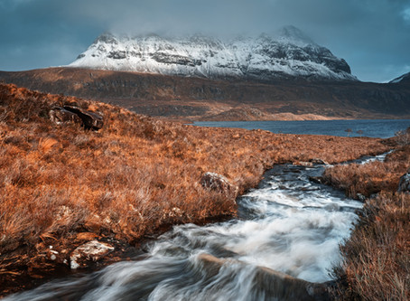 Assynt, North West Highlands with the SIGMA fp.