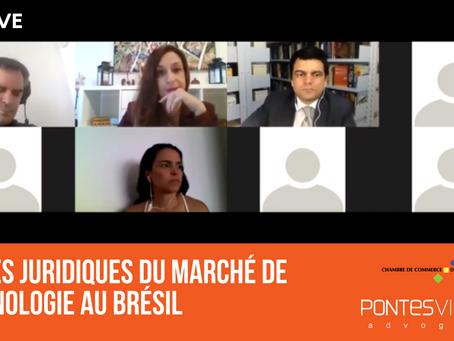 Webinar: regras jurídicas e econômicas do mercado de tecnologia do Brasil