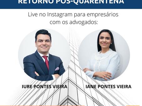 Live: Os Desafios Trabalhistas no Retorno Pós-Quarentena