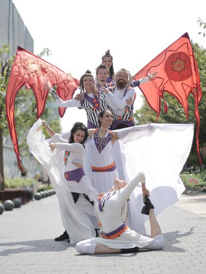 Dancetination circus dance performance