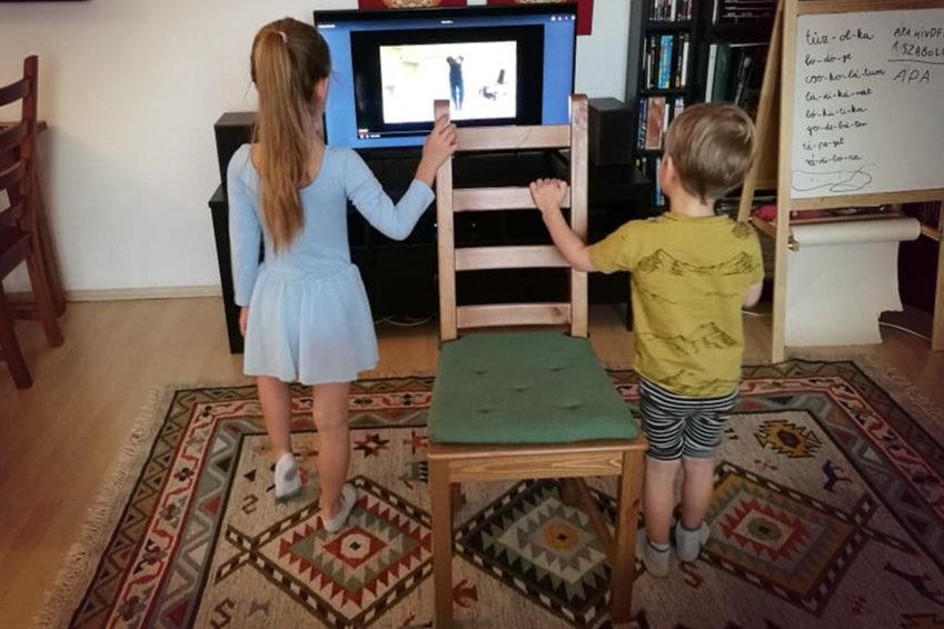 Online tánc gyerekeknek