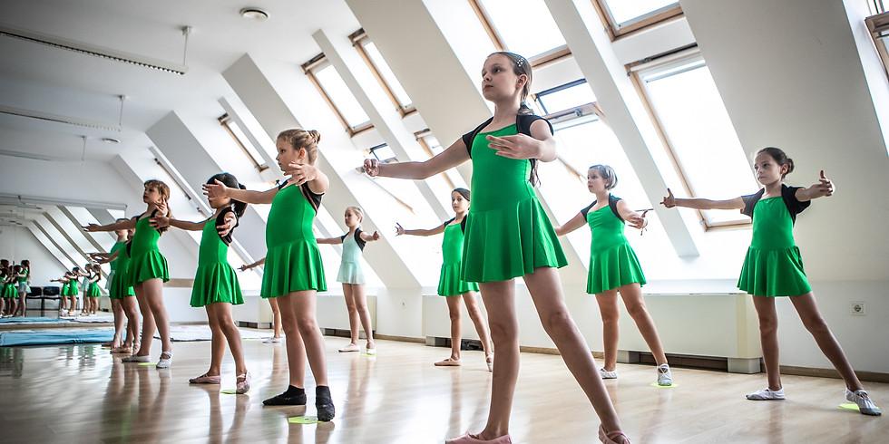 Félévi bemutató tánc órák