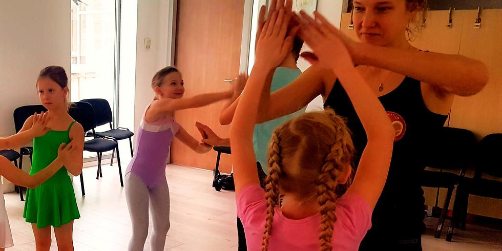 Dancetination Tavaszi kurzus - Improvizáció és mesetánc