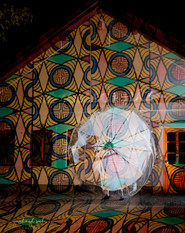 Dancetination  light dance performance