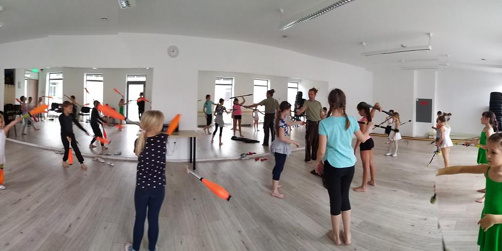Dancetination Tavaszi Kurzus - Eszközös óra (gyerek)